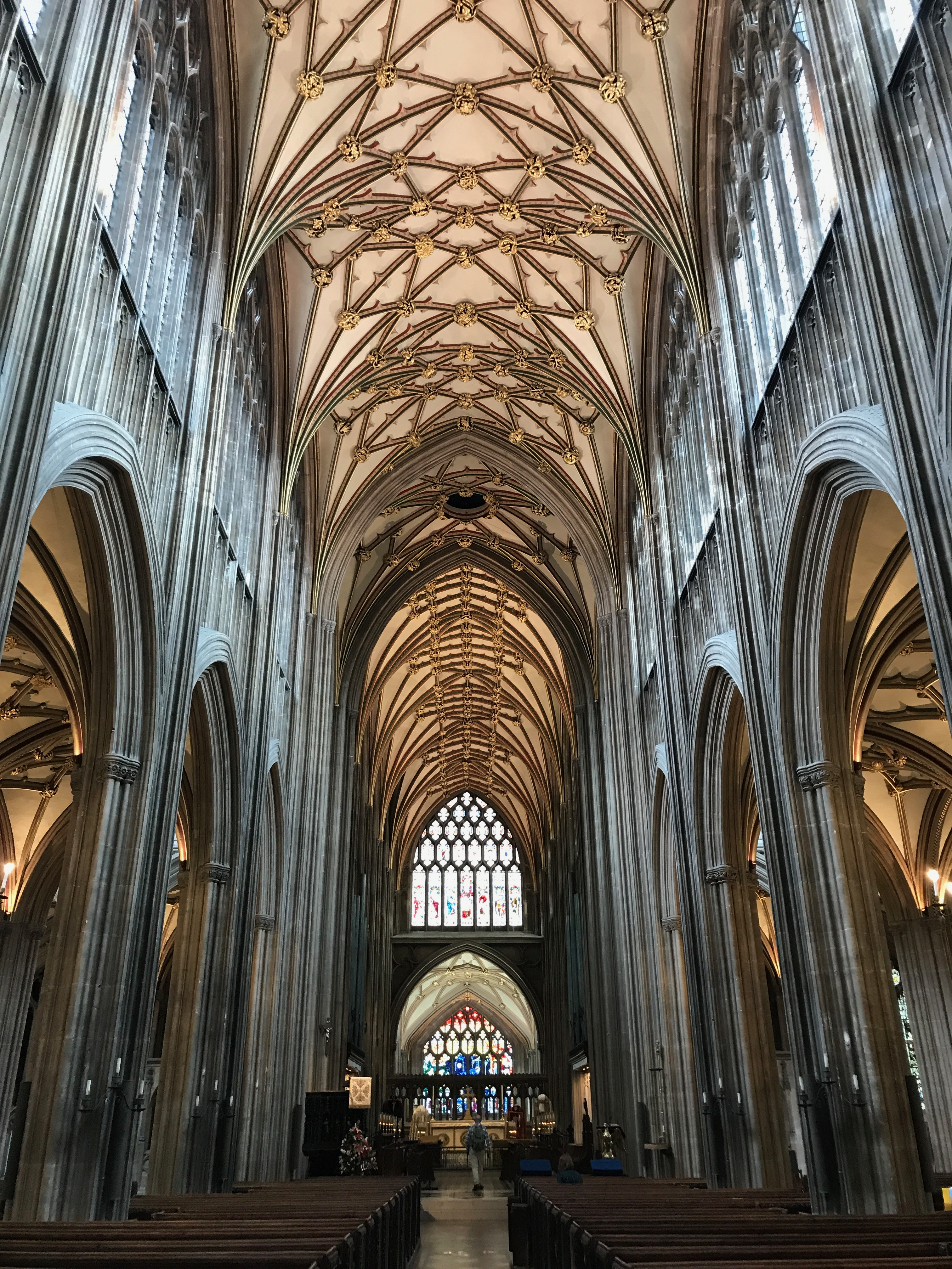 St Mary Redcliffe interior